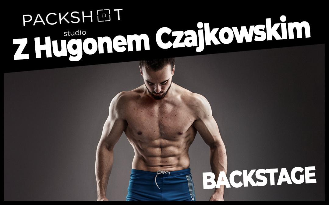 Sesja dla Youtubera! Hugon Czajkowski w Packshotstudio